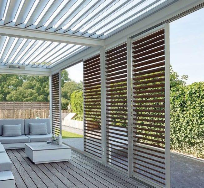 Erpe uitgesproken types terrasschermen