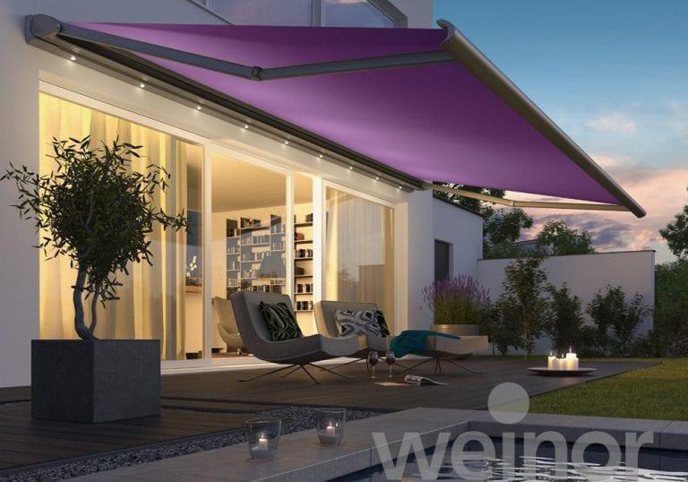Opal Design Weinor bij Erpé zonwering