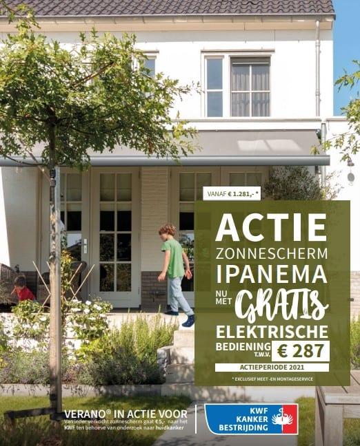 Verano Ipanema v280 zonnescherm LENTE-ACTIE